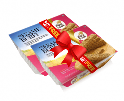 Manimark Golden Sesame Burfi offer