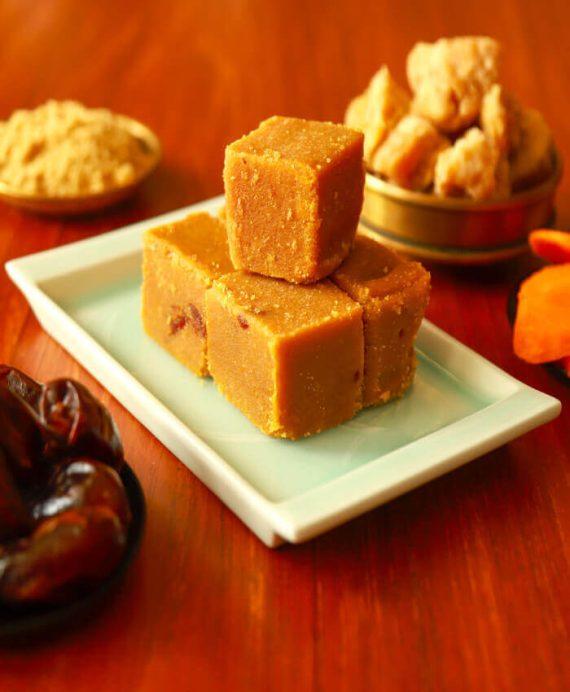Carrot Dates Mysorepak