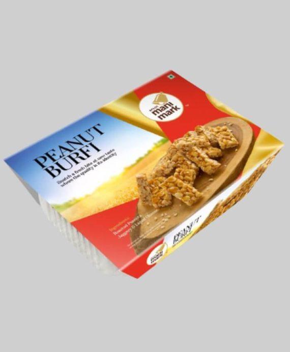 Golden Peanut Burfy Tray