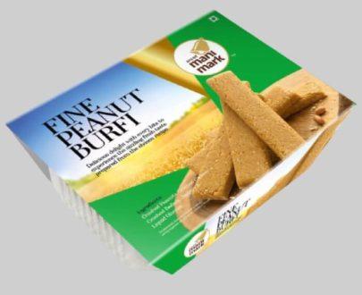 Golden Fine Peanut Burfy Tray