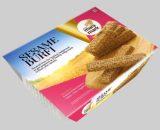 Golden Sesame Burfy Tray