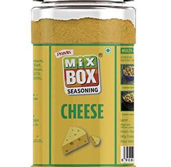 Cheese seasoning in bottle packing