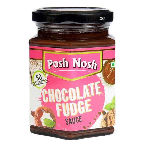Chooclate fudge sauce in bottle