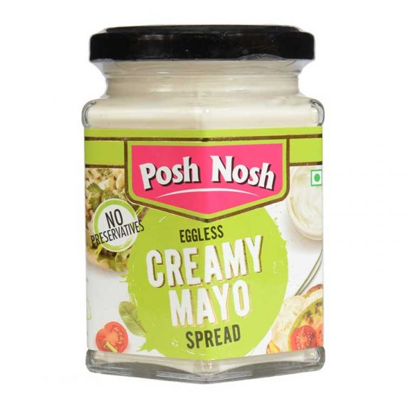 Creamy Mayo sauce in bottle